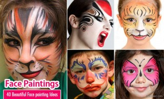 40 Beautiful Face painting Ideas from Top artists around the world