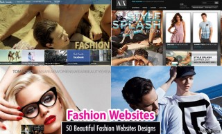 30 Beautiful Fashion Websites designs for your inspiration