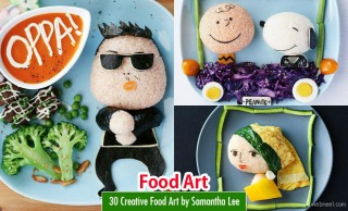 30 Creative Food Art and Craft Ideas by Samantha Lee
