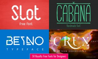 50 Royalty Free Fonts for Designers - Download Professional Fonts