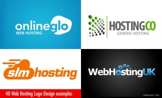 40 Creative and Beautiful Web Hosting Logo Design examples