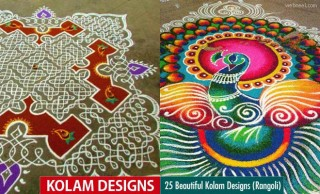 25 Beautiful Kolam Designs and Rangoli Kolams for your inspiraiton