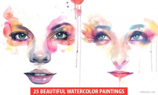 25 Beautiful watercolor paintings by Artist Marion Bolognesi