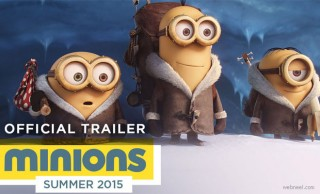 Minions - Upcoming 3D Animation Movie Trailer and Character Designs