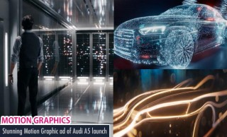 Stunning Motion Graphic Ad of Audi A5 launch - Pure Imagination