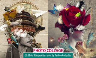40 Creative Photo Collage Ideas and Photo Manipulations by Andrea Costantini