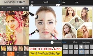 Top 10 Best and Free Photo Editing Apps - Android Apps