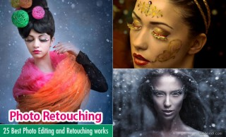 50 Best Photo Editing and Retouching works around the world