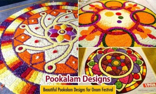 25 Most Beautiful Pookalam Designs for Onam Festival - part 2
