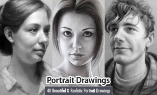 40 Beautiful and Realistic Portrait Drawings for your inspiration