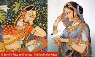 45 Beautiful Rajasthani Paintings - Traditional Indian Rajput Paintings