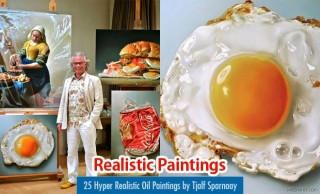 40 Mega Hyper Realistic Oil Paintings by Dutch Artist Tjalf Sparnaay
