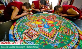 Mind-blowing Traditional Mandala Art and sand designs by Tibetan Monks