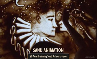 20 Award winning Sand Art works and Sand Animation examples
