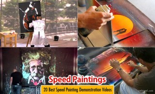 20 Best Speed Painting Demonstration Videos from the Masters