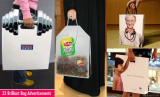 33 Brilliant and Innovative Bag Ads for your inspiration