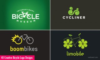 40 Creative and Brilliant Bicycle Logo Designs for your inspiration