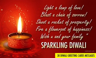 50 Beautiful Diwali Greeting Cards Messages for you