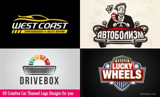 40 Creative Car Logo Design examples for your inspiration
