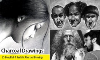 25 Beautiful and Realistic Charcoal Drawings for your inspiration