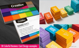 30 Colorful Business Card Design Examples for your inspiration