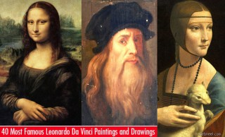 40 Most Famous Leonardo Da Vinci Paintings and Drawings