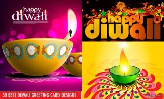 60 Beautiful Diwali Greeting cards Design and Happy Diwali Wishes
