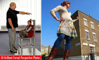 50 Brilliant Forced Perspective Photography examples - part 2