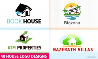 40 Creative House Logo design examples for your inspiration