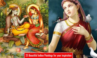 50 Most Beautiful Indian Paintings from top artists for your inspiration