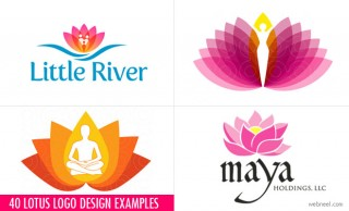 40 Creative Lotus Logo Design examples for your inspiration