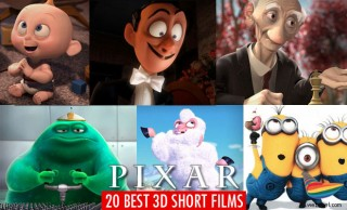 20 Award Winning 3D Pixar Short Films for your inspiration