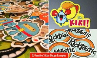 25 Creative Sticker Design examples for your inspiration