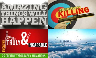 25 Creative and Best Typography Animation Videos for your inspiration