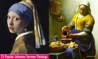 25 Most Popular Johannes Vermeer Paintings - Greatest Dutch Painter