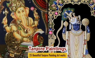 25 Beautiful Tanjore Paintings - Traditional Indian Paintings Thanjavur Art