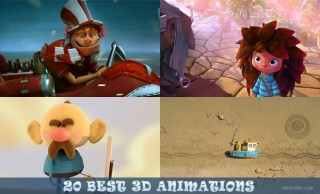 20 Beautiful 3D Short films TV Commercials and Motion Graphics videos