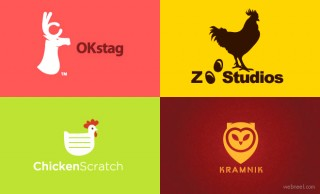 50 Beautiful Animal Logo Design examples for Inspiration