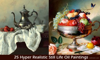 25 Hyper Realistic Still Life Oil Paintings by Alexei Antonov - By Old Masters Technique