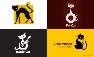 28 Creative Cat Logo Design examples for your inspiration