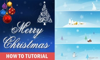 How to Create a Beautiful Christmas Greeting Card Design - Make your own Christmas cards