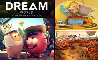 Dream World - Beautiful and Creative 3D Animtion Videos for your inspiration