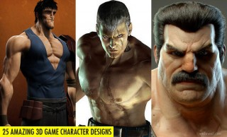 25 Amazing 3D Game Characters Design Masterpieces for inspiration