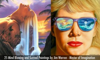 25 Mind Blowing and Surreal Paintings by Jim Warren - Master of Imagination
