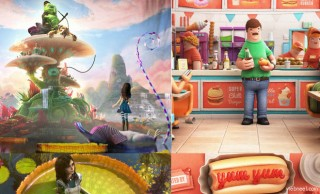 Happy Food, Enchanted Forest and Madness Returns - Most Inspired 3D Animations and Character designs