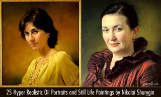 25 Hyper Realistic Oil Portraits and Still Life Paintings by Nikolai Shurygin