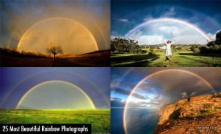 25 of the Worlds Most Beautiful Rainbow photography examples
