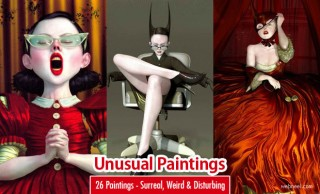 26 Unusual and Surreal Paintings by Ray Caesar - Weird and Disturbing