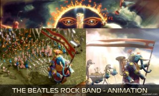 The Beatles Rock Band Cinematic - Inspiring Character designs and videos