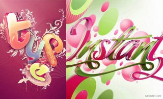 25 Creative Typography Designs by NikAinley - Testing the Boundaries of my Creativity